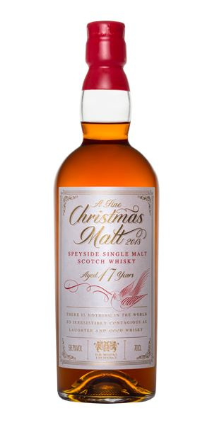 A Fine Christmas Malt 2018, 17 Years Old (Elixir Distillers)