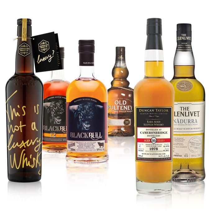Batch 9 whiskies