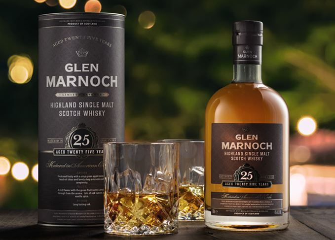 Glen Marnoch 25 Year Old whisky from Aldi