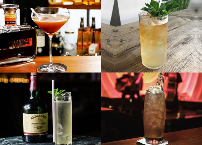Summer whisky cocktails, Highballs and Cobblers