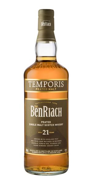 BenRiach Temporis 21 Years Old