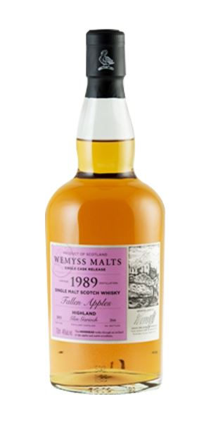 Fallen Apples, Glen Garioch 1989 (Wemyss Malts)