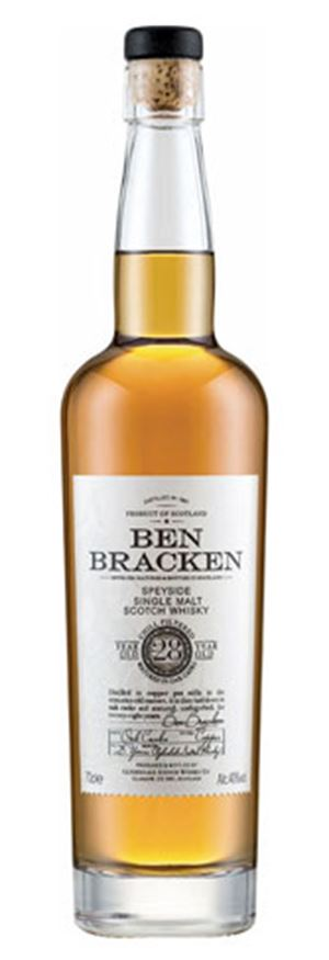Ben Bracken 28 Years Old Speyside Single Malt