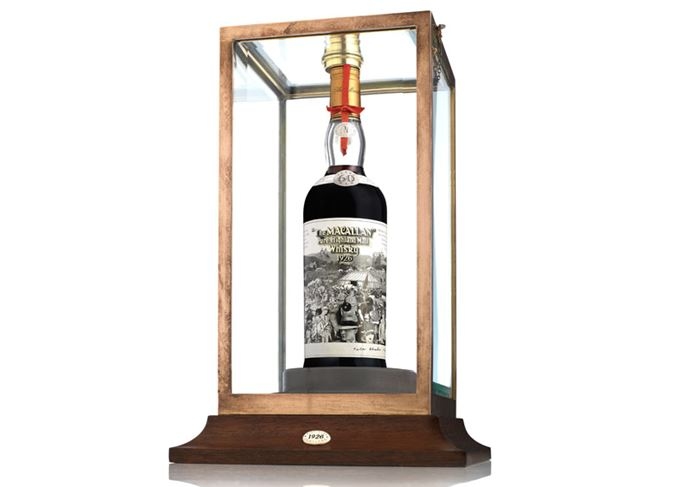 Macallan 1926 60 Year Old sold at Bonhams Edinburgh in March 2019