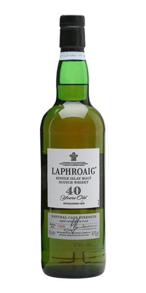 Laphroaig 40 Years Old, Bottled 2001