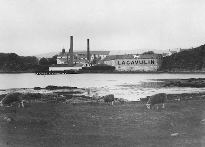 Lagavulin distillery in the 1930s