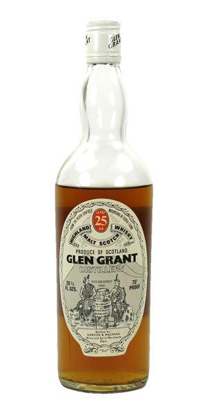 Glen Grant 25 Years Old, Bottled c.1970 (G&M)