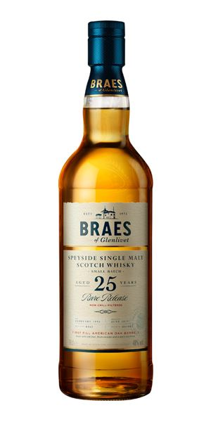 Braes of Glenlivet 25 Years Old