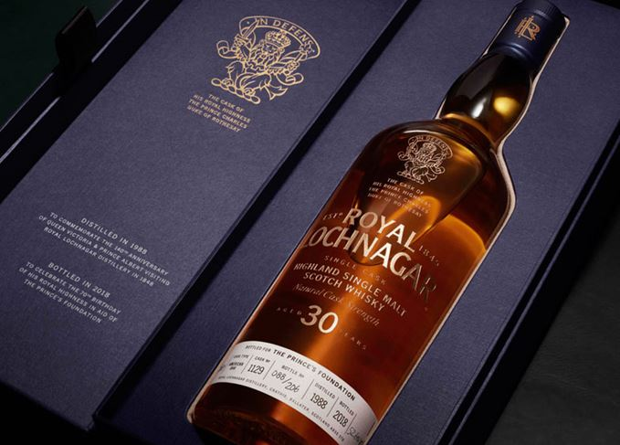 Royal Lochnagar 30 Year Old from Prince Charles