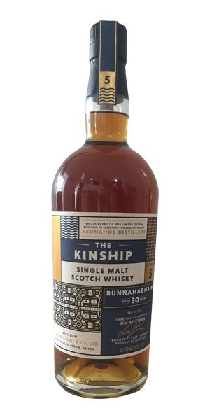 Bunnahabhain 30 Years Old, The Kinship (Hunter Laing)