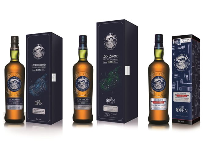 Loch Lomond Open 1999 vintages and Open Special Edition