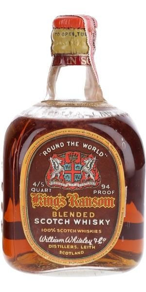 King's Ransom 'Round the World', Bottled 1940s