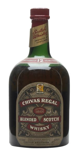 Chivas Regal 12 Years Old, Bottled 1950s
