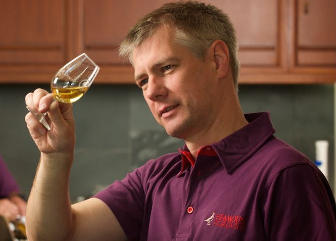 The Famous Grouse master blender Gordon Motion