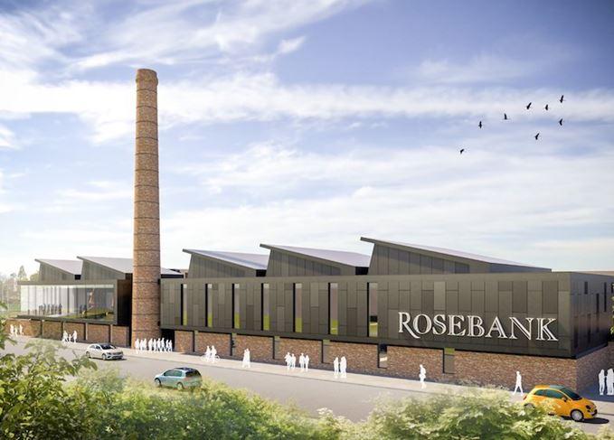 Rosebank distillery artist's impression