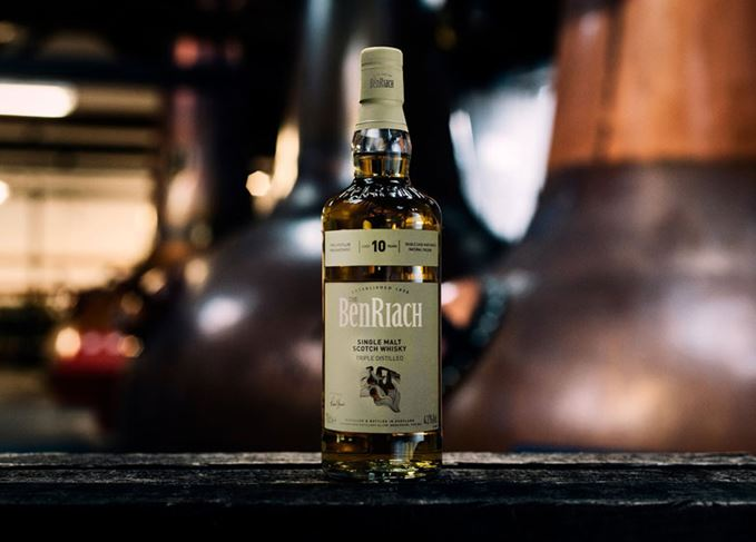 BenRiach Triple Distilled 10 Year Old