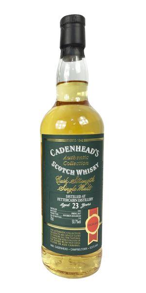 Fettercairn 23 Years Old (Cadenhead)
