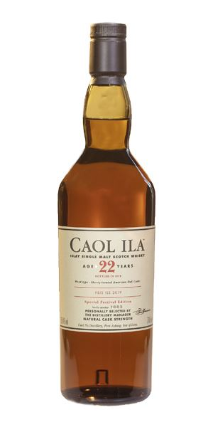Caol Ila 22 Years Old, Fèis Ìle 2019