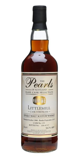 Littlemill 26 Years Old (Pearls of Scotland)