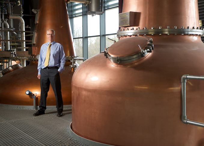 Ian Palmer at Inchdairnie distillery