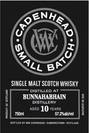 Bunnahabhain 10 Years Old Small Batch (Cadenhead)