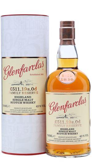 Glenfarclas £511 19s 0d