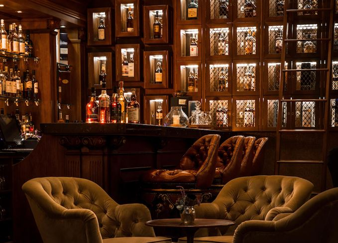 Whisky bar MacLeod House & Lodge