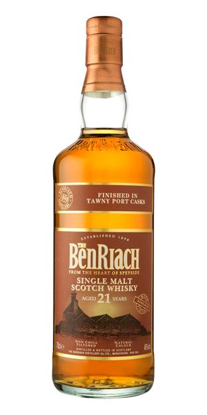 BenRiach 21 Years Old Tawny Port Finish