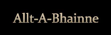 Allt-a-Bhainne