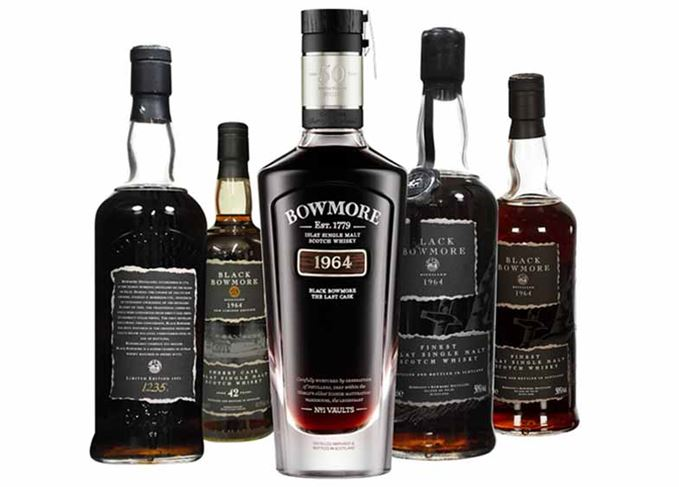 Black Bowmore whisky