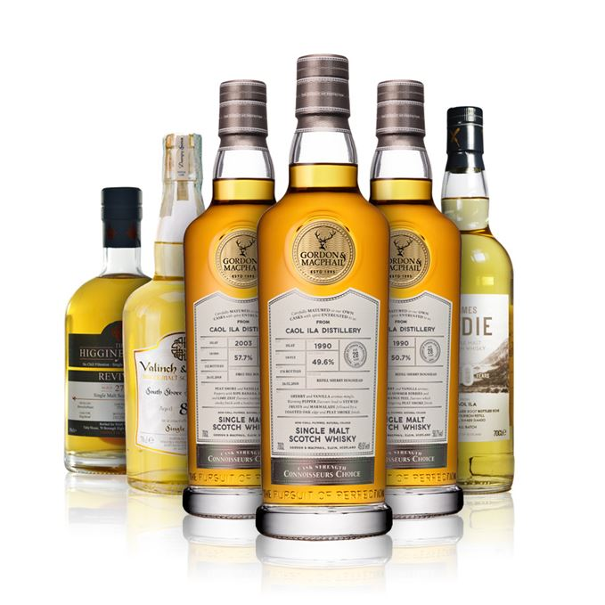 New whisky reviews: Bunnahabhain from HAH, Caol Ila from Gordon & MachPhail and James Eadie, South Shore Islay Malt from Valinch & Mallet