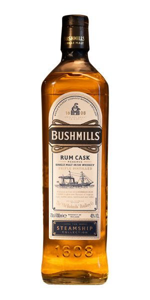 Bushmills Rum Cask Reserve, The Steamship Collection