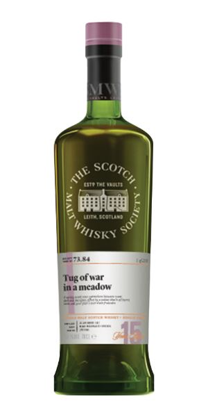 73.84: Tug of War in a Meadow, Aultmore 15 Years Old (SMWS)