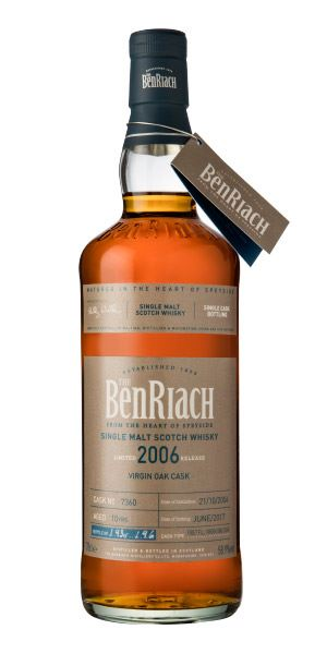 BenRiach Single Cask Batch 14, 10 Years Old (2006), Virgin Oak Cask #7360
