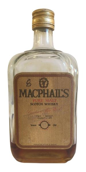 MacPhail's Pure Malt 10 Years Old, bottled 1980s