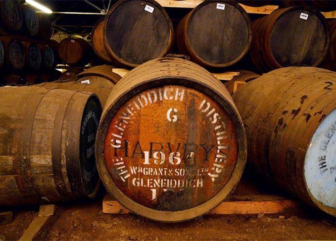 Glenfiddich 1964 cask