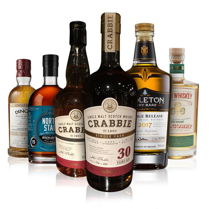 Batch 132: Bruichladdich, JJ Corry, Crabbie, Dingle and Midleton Very Rare