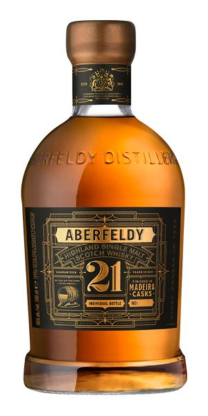 Aberfeldy 21 Years Old, Madeira Finish