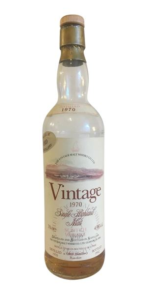 Ord 1970, 22 Years Old (Vintage Malt Whisky Co)