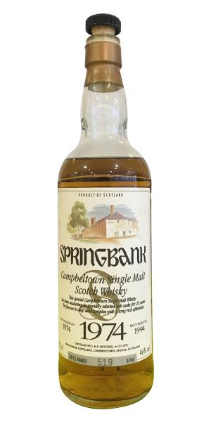 Springbank 1974 (bottled 1994)