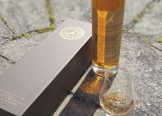 Strathearn whisky distillery