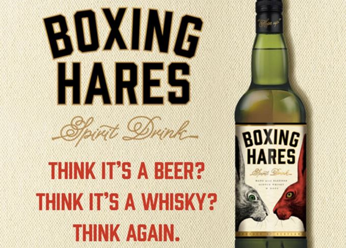 Boxing Hares whisky spirit drink