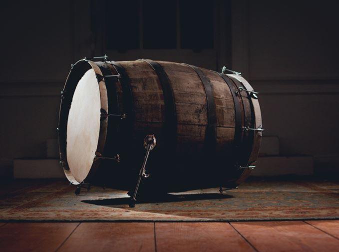 Lagavulin cask drum