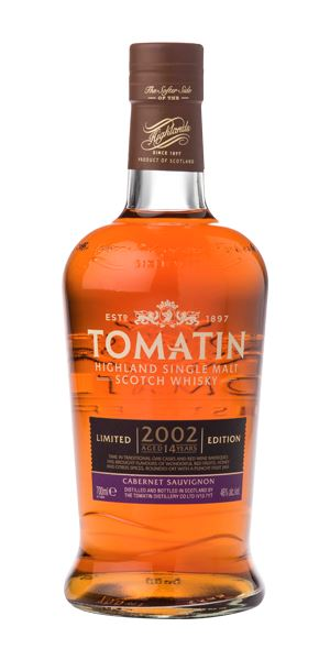 Tomatin 14 Years Old, 2002, Cabernet Sauvignon Cask