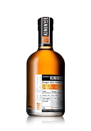 Kininvie 25 Years Old 'The First Drops'