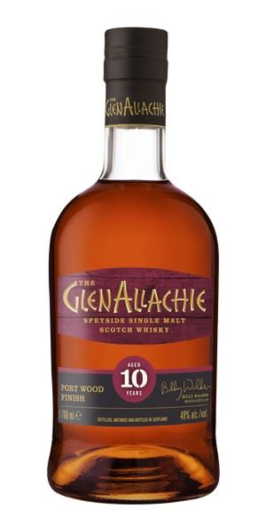 GlenAllachie 10 Years Old, Port Finish
