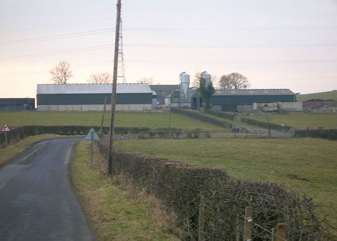 Lochlea Farm in Ayrshire