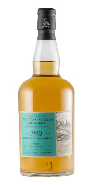 Bunnahabhain 1990, Hike to the Haven (Wemyss Malts)