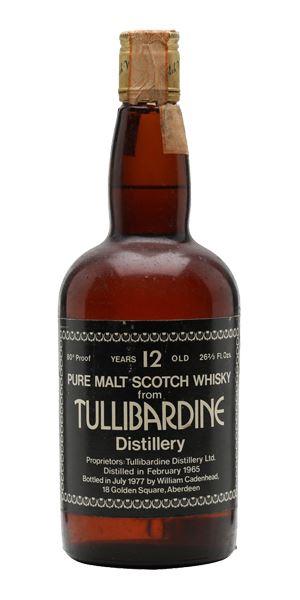 Tullibardine 12 Years Old, Distilled 1965 (Cadenhead)