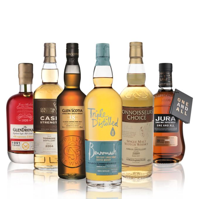 Batch 115: Benromach Triple Distilled, Jura One and All, Glendronach Kingsman, Glen Scotia 18, Tormore, Arran Gordon and MacPhail
